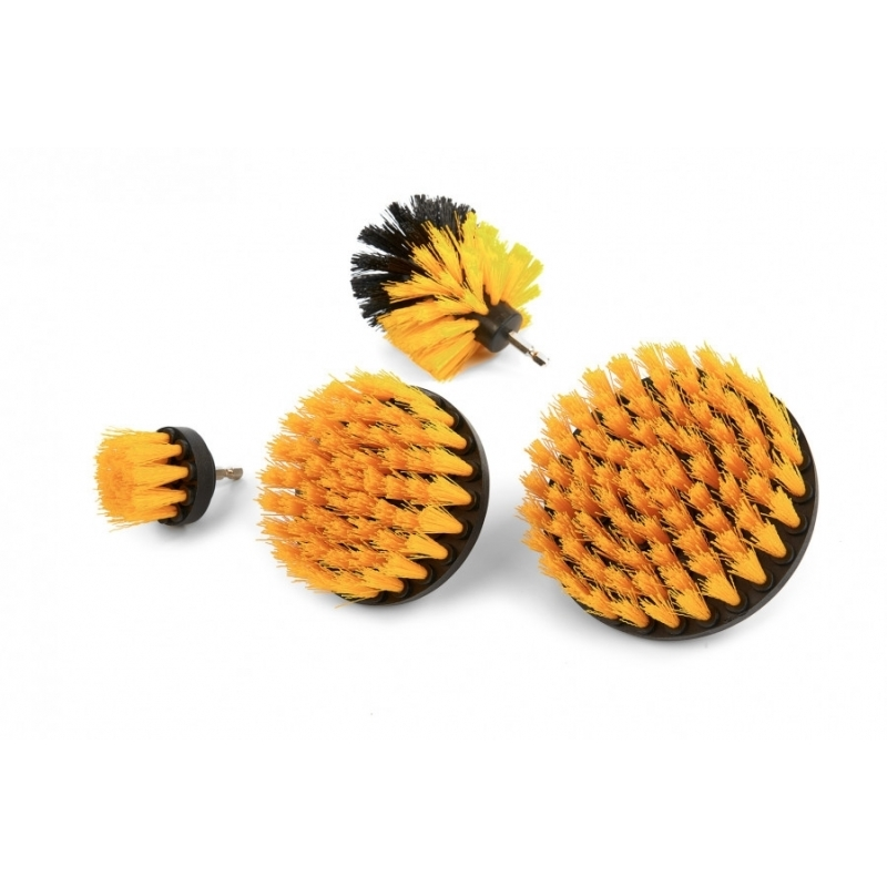 Drill brush kit - Brosses pour visseuses - AM-Detailing