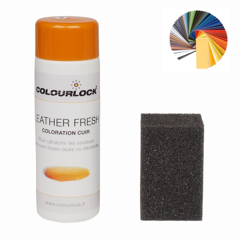 Leather Fresh noir (F034) 150ml Colourlock - Teinture cuir auto - AM-Detailing