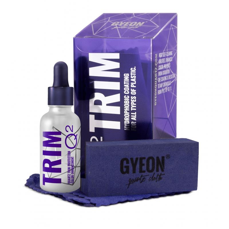 Q2 Trim Gyeon - Traitement céramique plastiques - AM-Detailing
