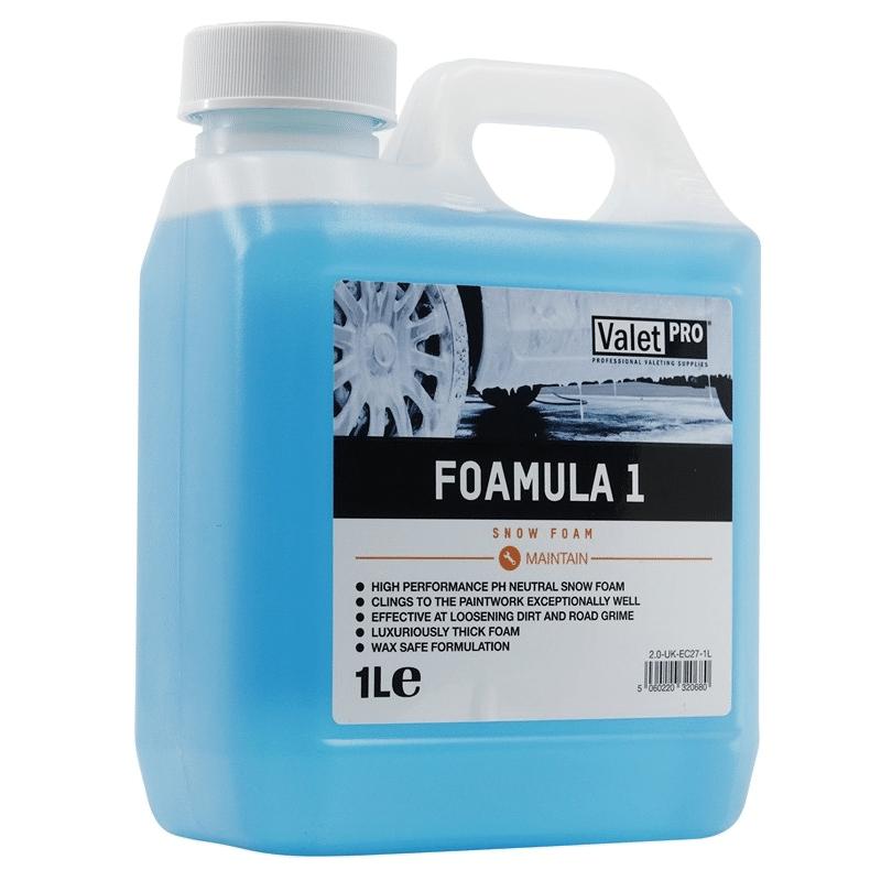 Foamula 1 - Snow Foam Prélavage - AM-Detailing