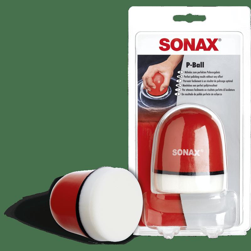 P-Ball Polishing SONAX - Pad polissage manuel - AM-Detailing