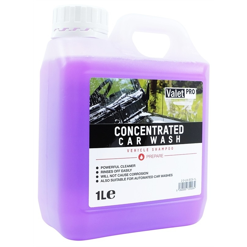 Concentrated Car Wash ValetPRO - Shampoing pH neutre - AM-Detailing