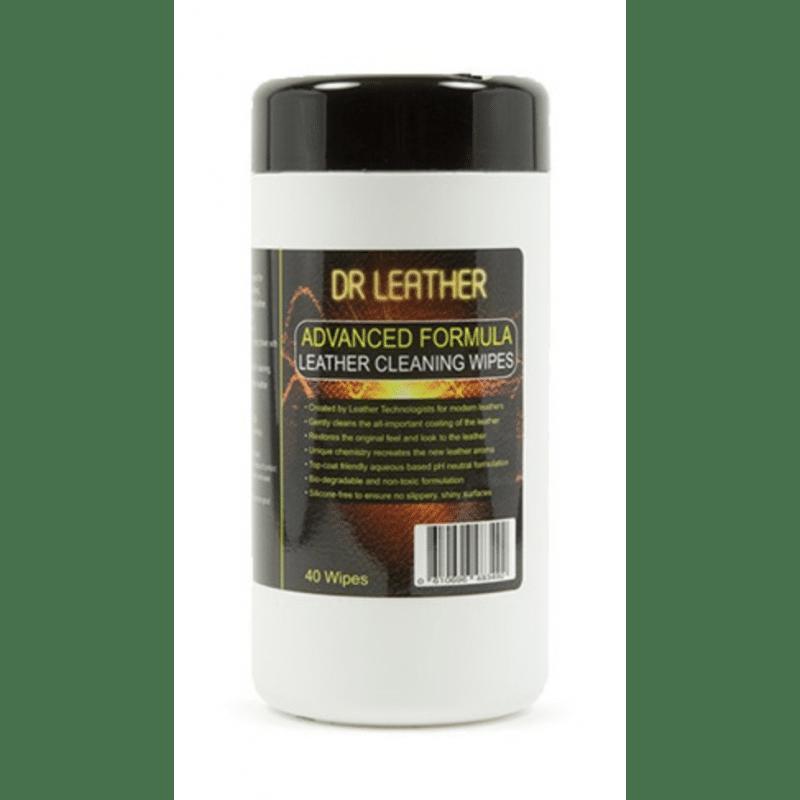 Lingettes cuir Dr. Leather - Nettoyage cuir - AM-Detailing